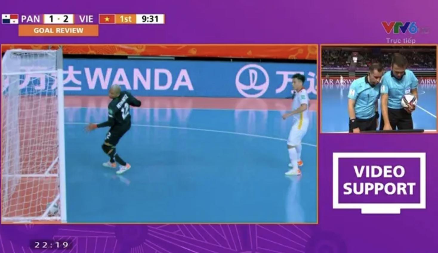 Hệ thống VS của VCK FIFA futsal World Cup và những quyết định có lợi với ĐT futsal Việt Nam