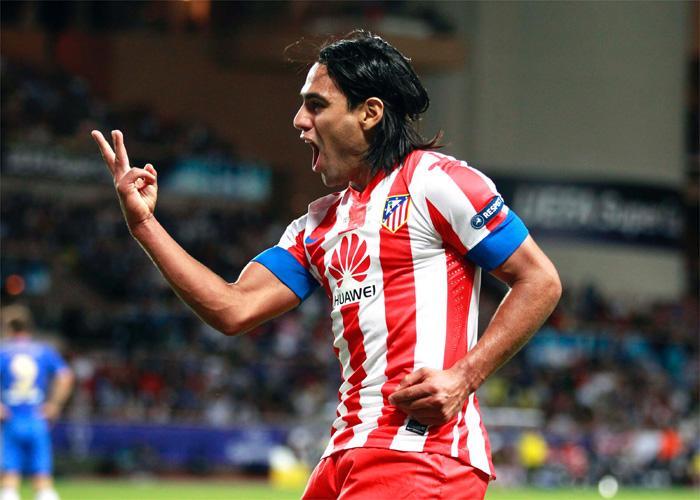 Radamel Falcao đem đến bàn thắng quyết định