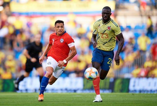 Colombia đánh bại Chile trong trận đấu thuộc khuôn khổ vòng loại World Cup 2022 khu vực Nam Mỹ