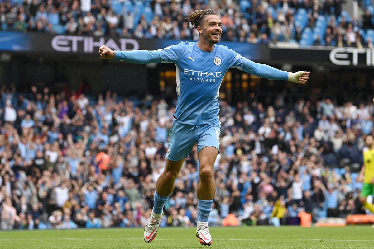 Jack Grealish có một pha solo xuất sắc tại vòng bảng Champions League 2021/22