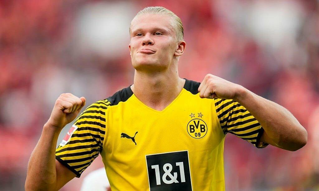Haaland mới được bầu chọn là cầu thủ xuất sắc nhất tháng 8 tại Bundesliga