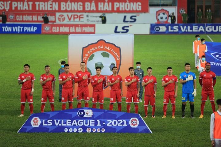 CLB Hải Phòng có nguy cơ bị cấm tham gia V.League 2022 vì chưa thanh toán đầy đủ tiền thuế