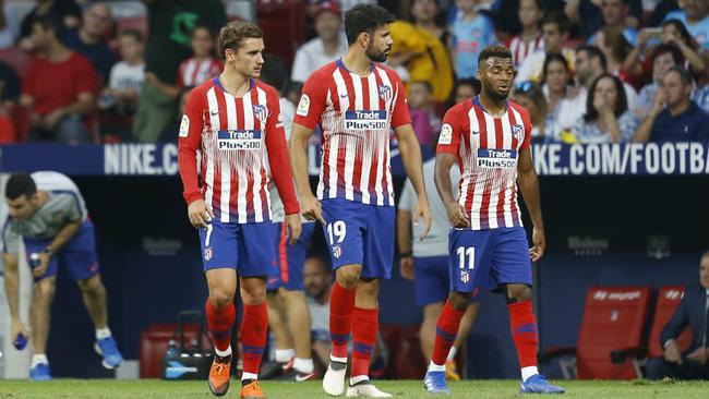 Hàng công của Atletico Madrid