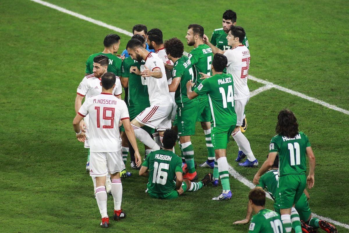 Đội hình dự kiến của Iraq và Iran