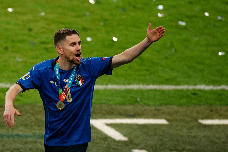 Trong cùng một năm, Jorginho đã liên tiếp tham dự hai giải đấu lớn nhất châu Âu