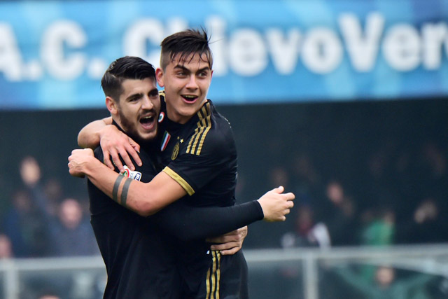Juventus đã có được bàn thắng đầu tiền