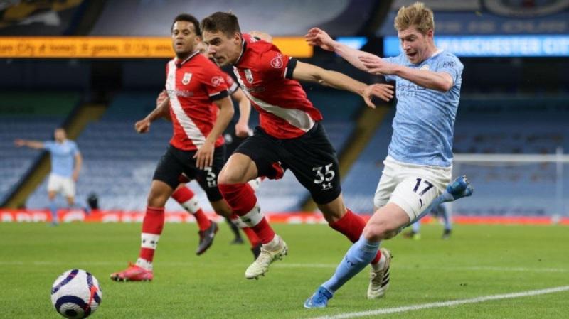 Man City được đá trên sân nhà tiếp Southampton nhưng không thể giành chiến thắng