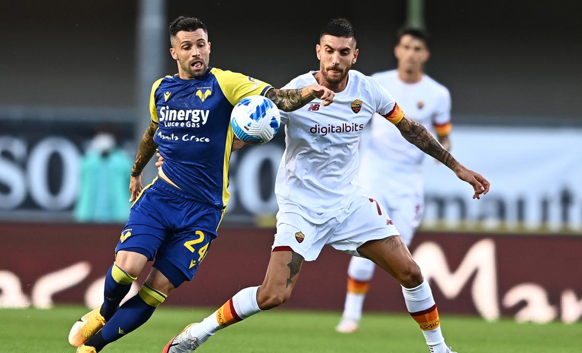 Roma để thua Verona với kết quả 2-3