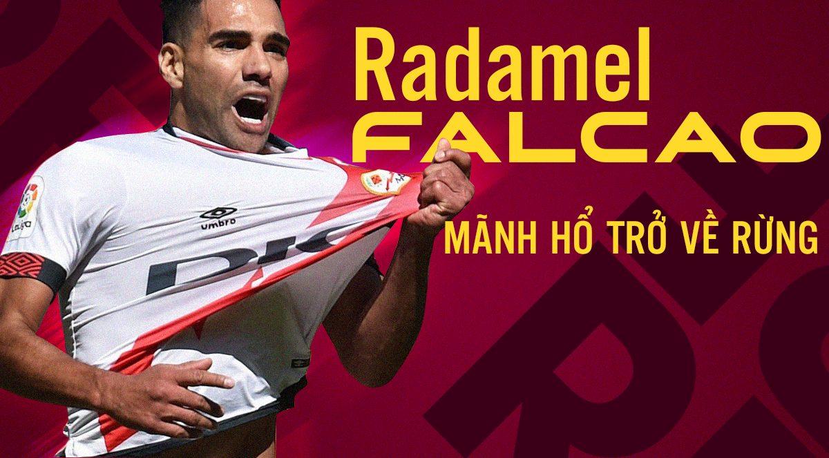 Radamel Falcao quyết định ký hợp đồng 2 năm với Rayo Vallecano