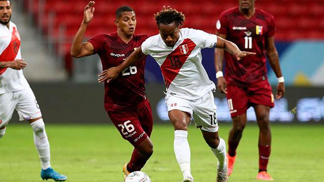 Peru áp đảo hoàn toàn ở hiệp 2