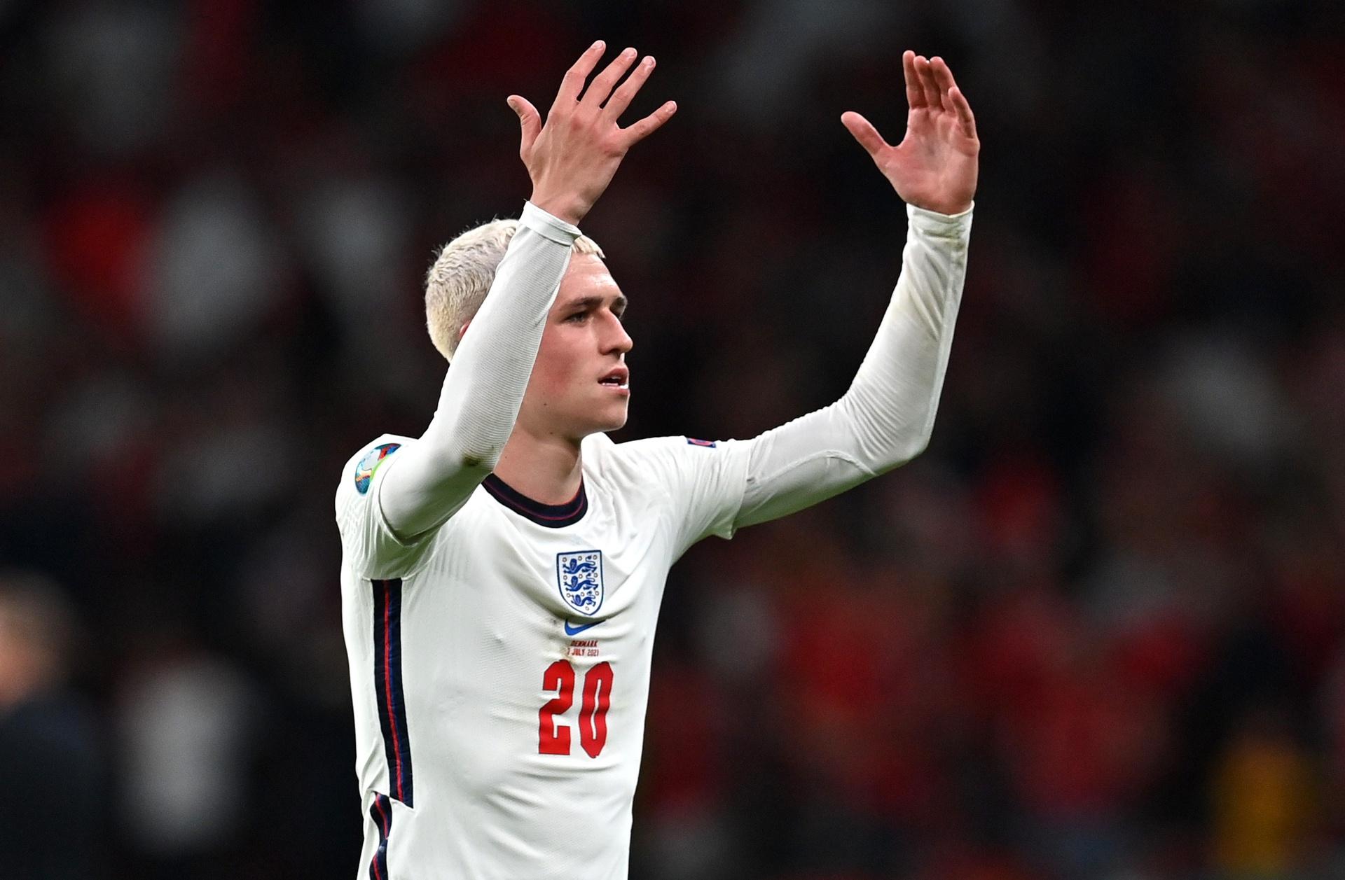 Việc Phil Foden vắng mặt không gây nên quá nhiều ảnh hưởng đối với đội tuyển Anh