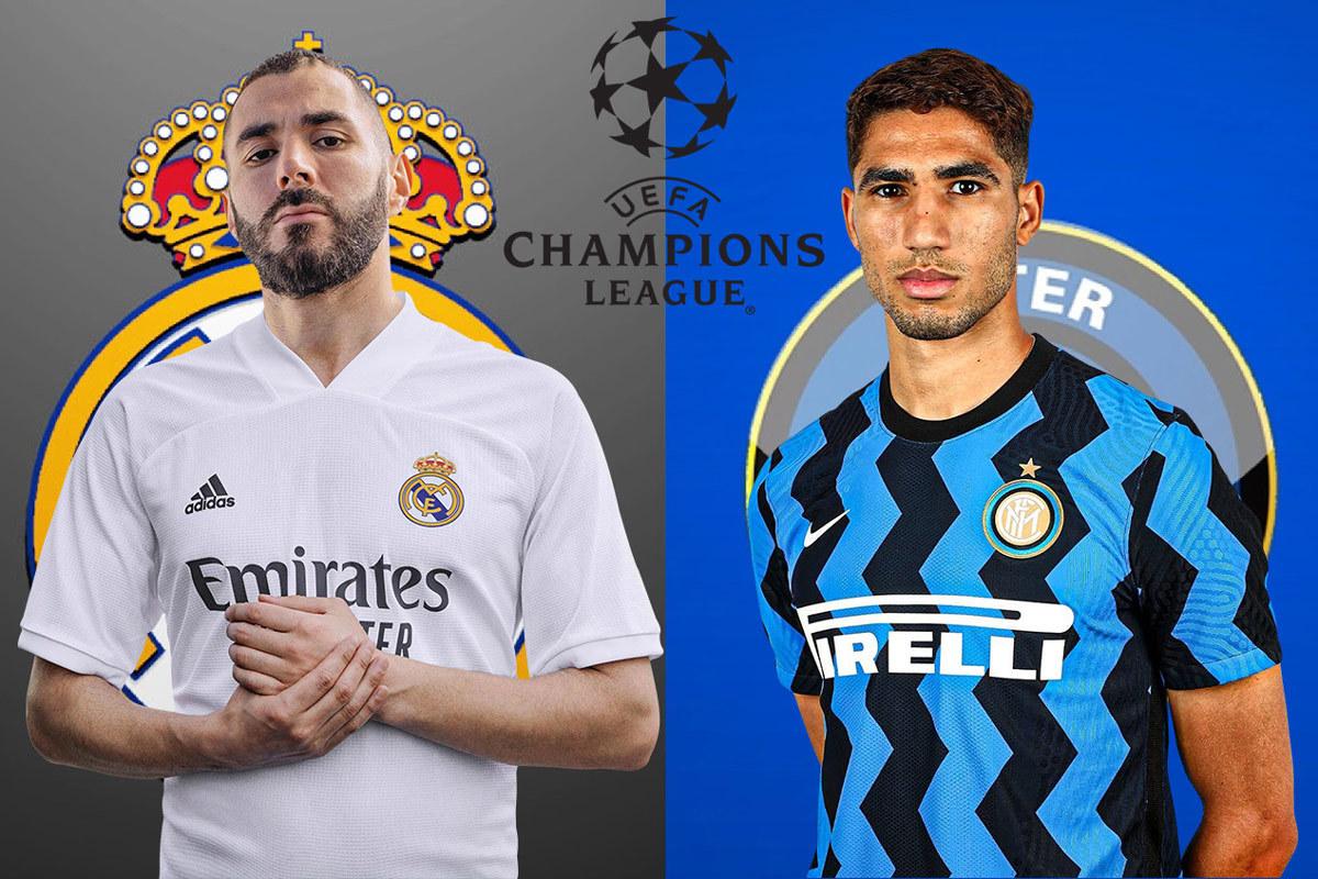 Real Madrid và Inter Milan tiếp tục chung bảng trong mùa giải năm nay