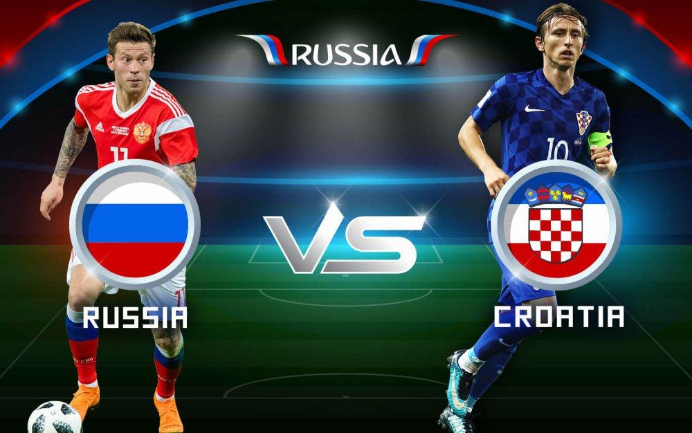 Cuộc chạm trán giữa tuyển Nga với tuyển Croatia tại vòng 4 bảng H World Cup 2022