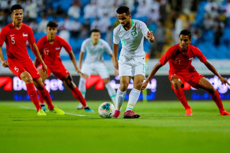 Saudi Arabia xếp nhì bảng B vòng loại thứ ba World Cup 2022 khu vực châu Á sau khi thắng Oman