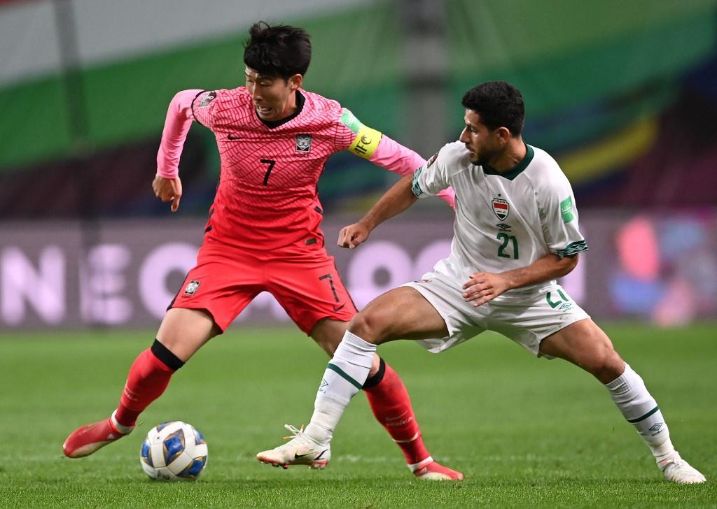 Hàn Quốc thể không xuyên thủng được hàng thủ Iraq trong hiệp 1