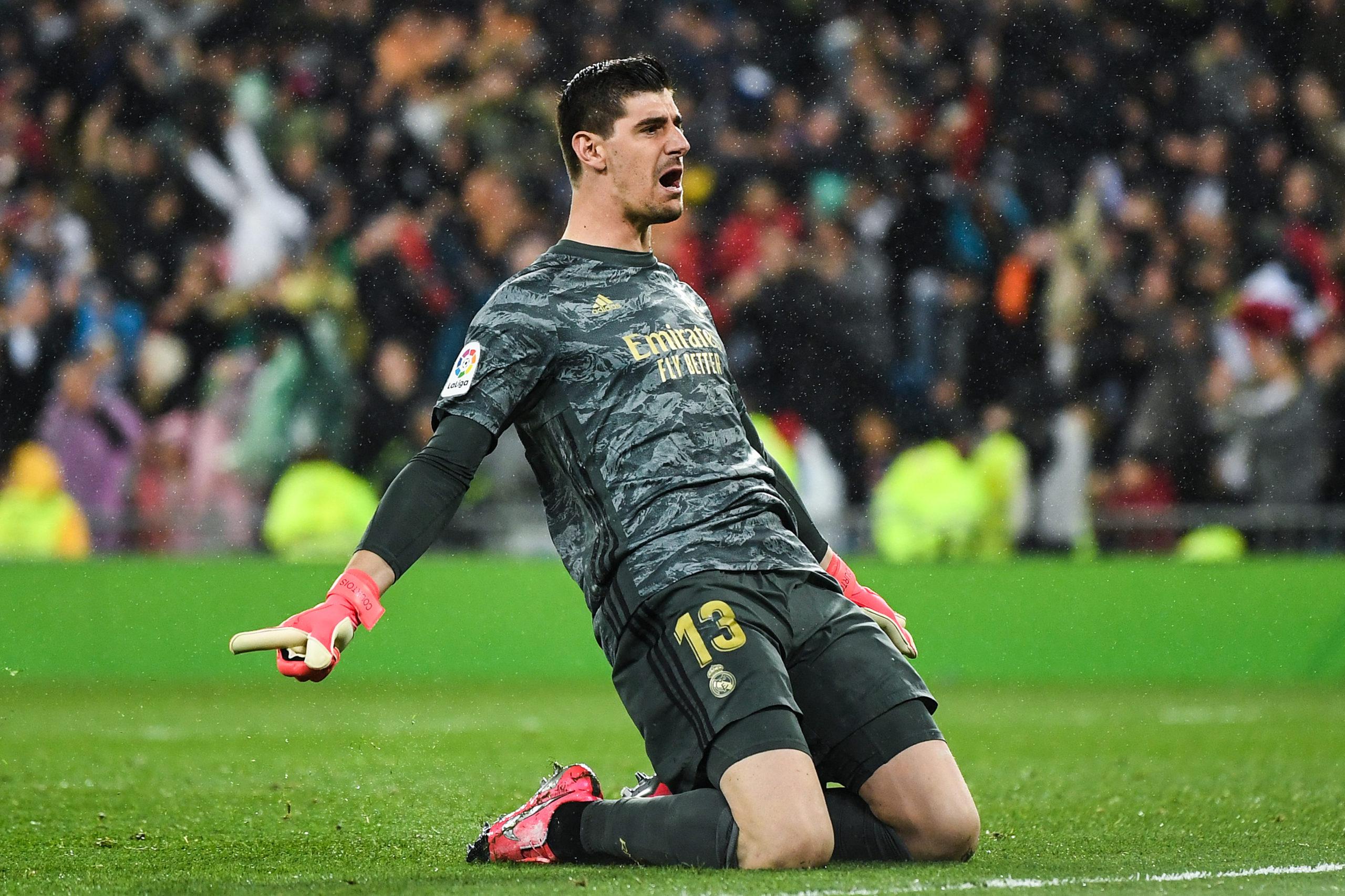 Real Madrid đứng vững nhờ những pha cứu thua của thủ môn Thibaut Courtois