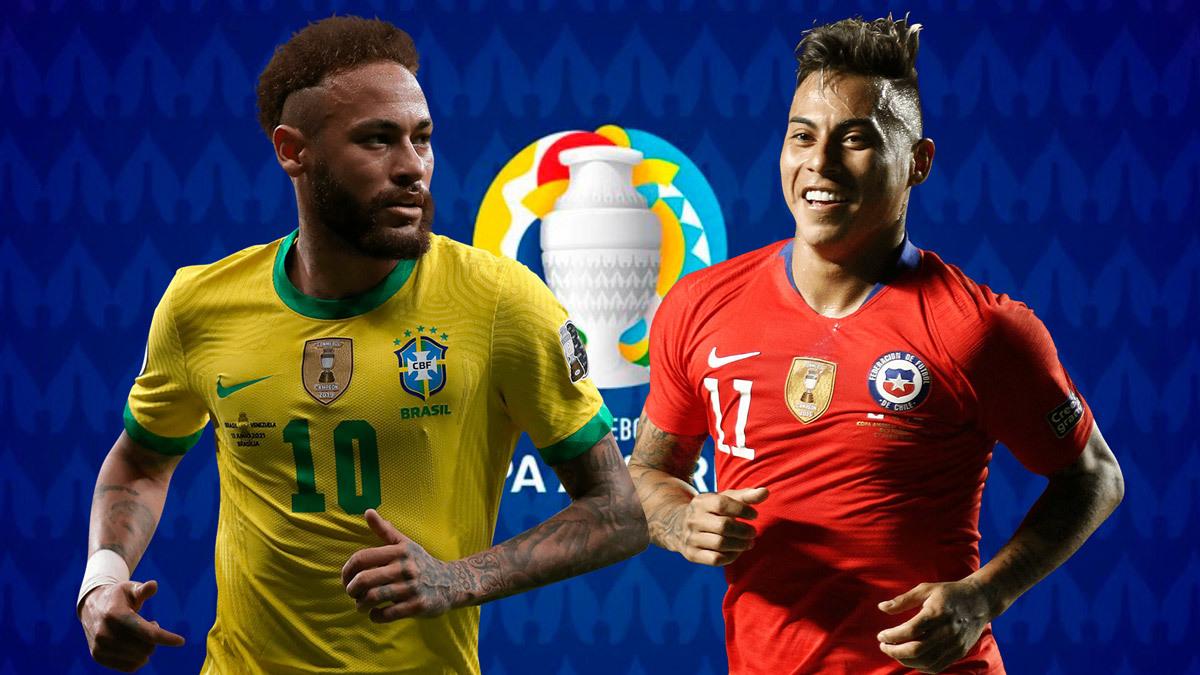 Bóng đã được đưa vào lưới đội tuyển Brazil trong hiệp 1