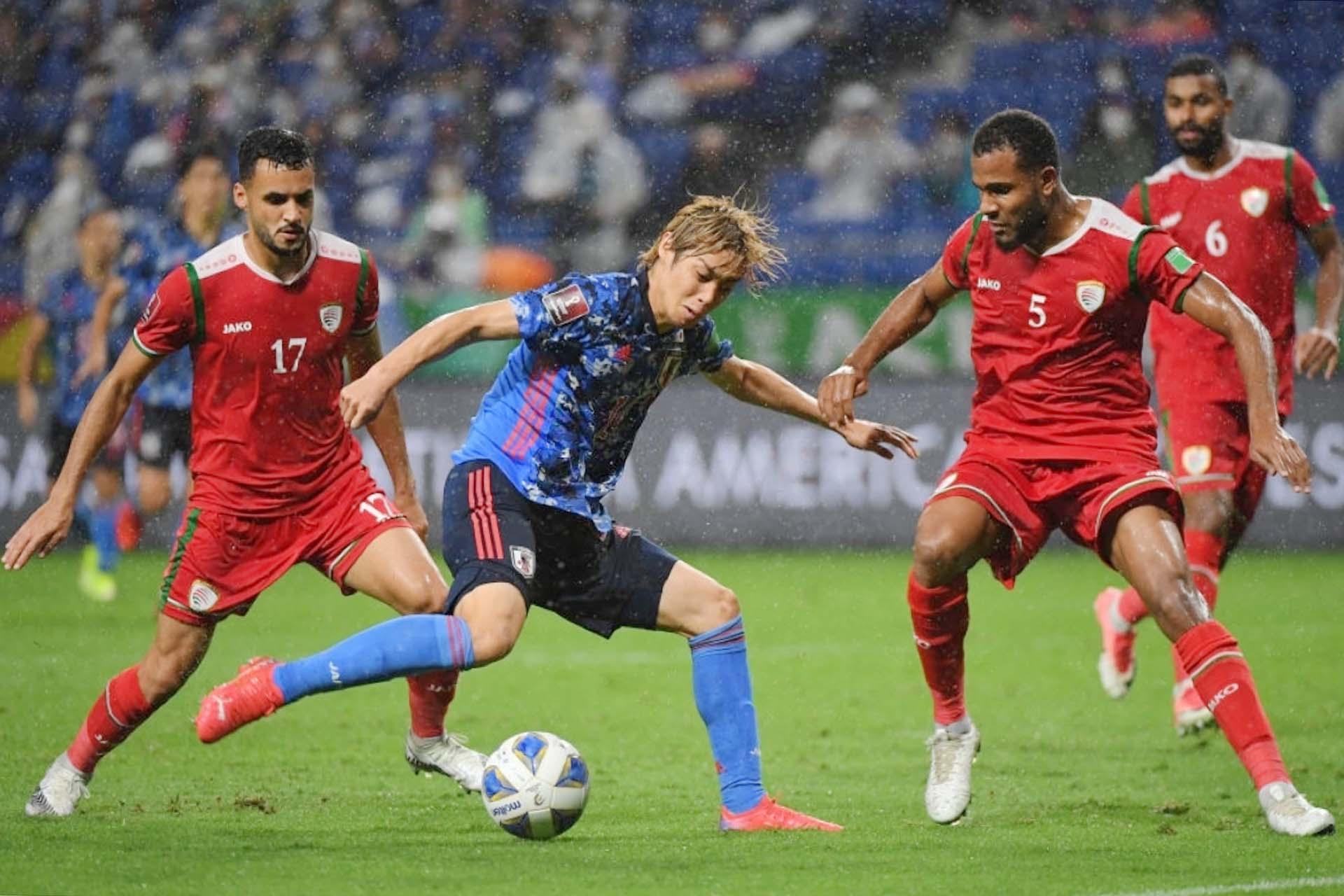 Nhật Bản bất ngờ thất bại trước đối thủ Oman