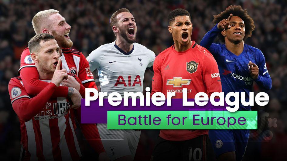 4 đội bóng mạnh nhất Premier League