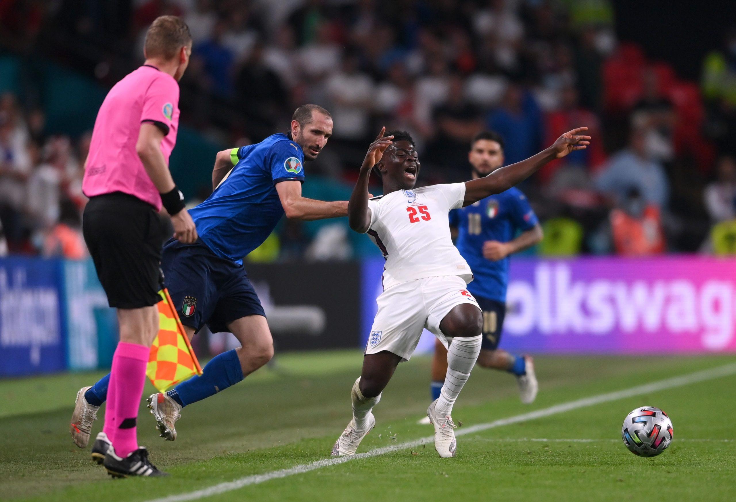 Italia và Anh đóng góp 08 cái tên trong danh sách Đội hình tiêu biểu Euro 2020 của UEFA