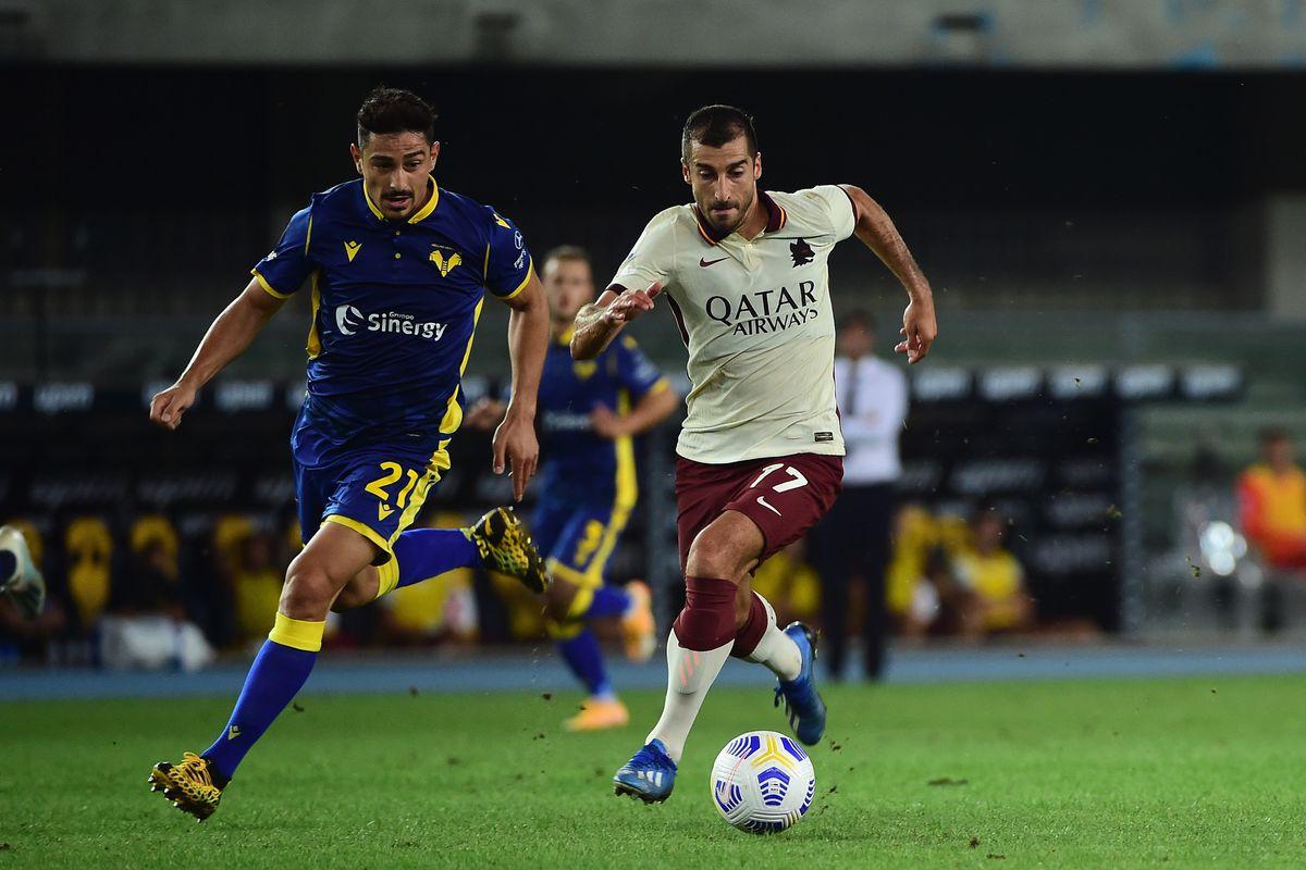 Roma thua Verona nhưng lại là tín hiệu tích cực