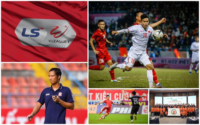 Mùa giải V.League 2021 bị hoãn